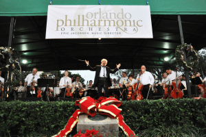 Orlando Philharmonic Orchestra Rings in the Holiday Season in Winter Park's Central Park