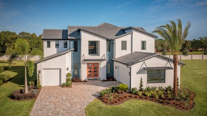Toll Brothers community Shores at Lake Whippoorwill, Corbeil Modern, photo by Roberto Gonzalez