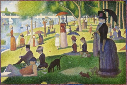 A Sunday on La Grande Jatte (1884) by Georges Seurat. Original from The Art Institute of Chicago. Digitally enhanced by rawpixel.