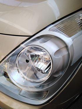 Headlight Detail Hyundai Starex QC area