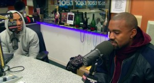 Kanye sat down to talk to The Breakfast Club.