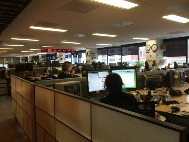 Inside the Reuters office in D.C.