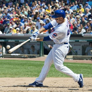 Cubs first baseman Anthony Rizzo. Photo courtesy of Google Images.
