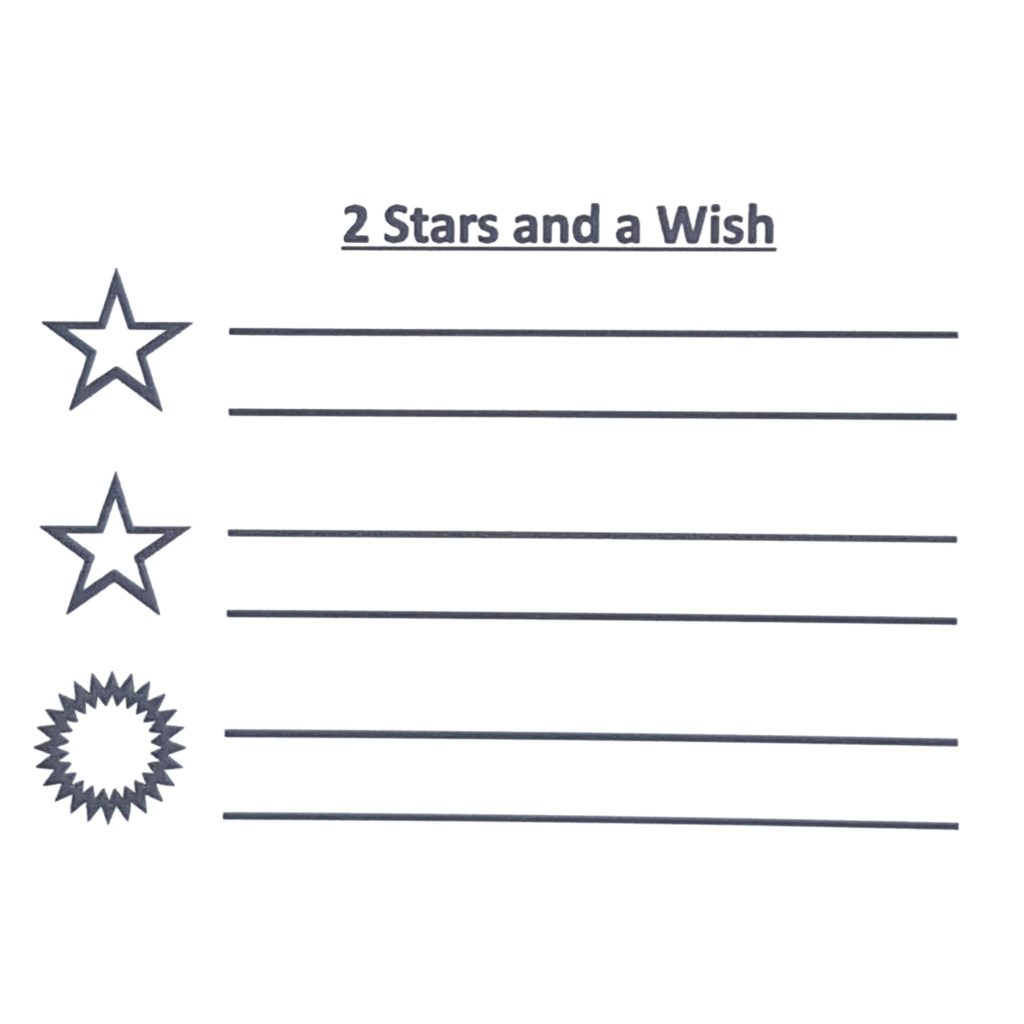 2 Stars And A Wish Stamp