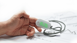 fingertip pulse oximetry