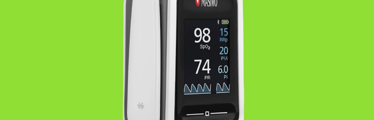 Masimo Mightsat Pulse Oximeter with Mobile App