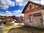 Første landsby, Cardeñadijo. Litt tidlig for en lengre stopp.