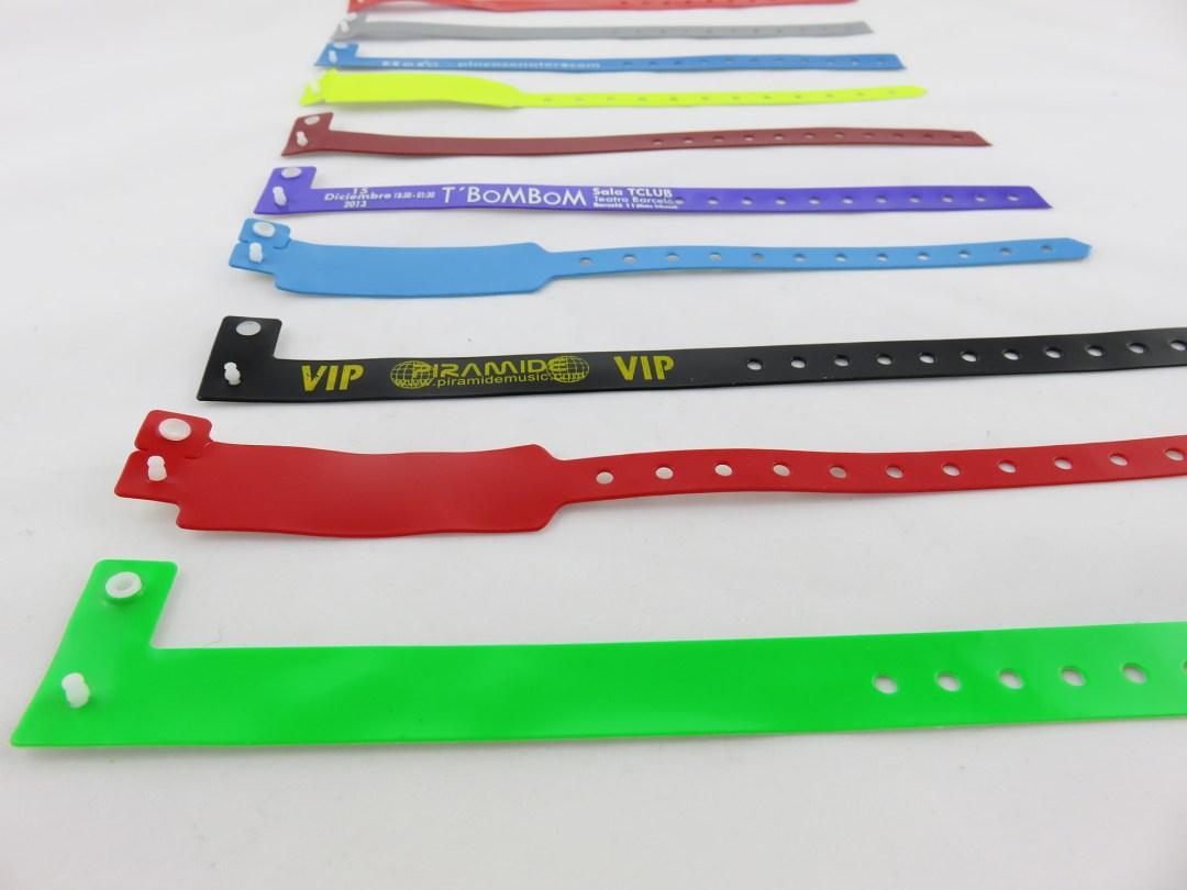 Modelos de pulseras de vinilo