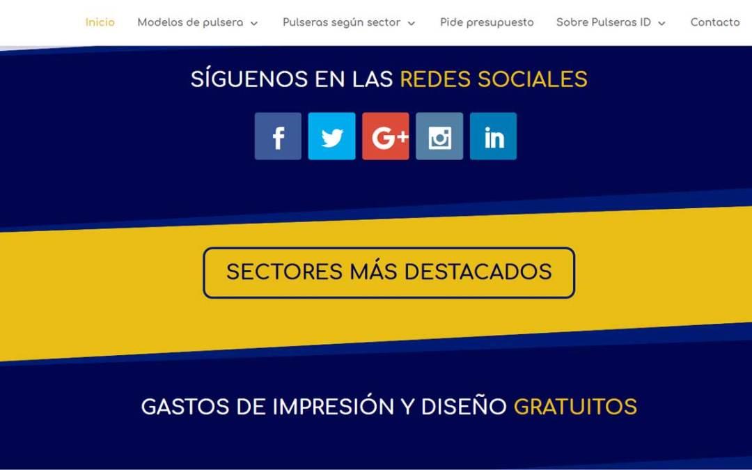 Pulseras ID se moderniza gracias a su nueva web