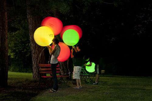 Globos Luminosos con Luz Led  Pulseras Luminosas