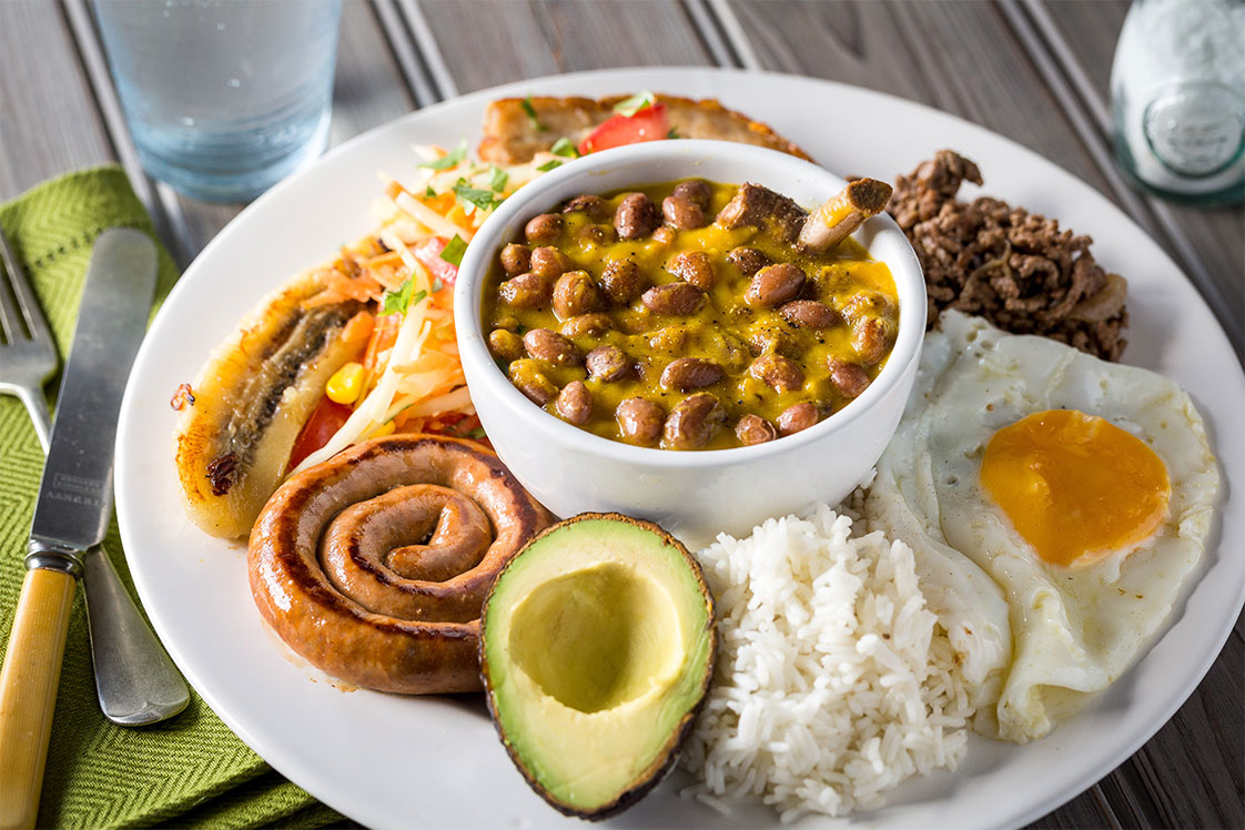 Bandeja Paisa  Worlds Greatest Pulse Dishes Mains Recipe