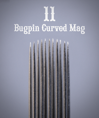 11 Bugpin Curved Mag