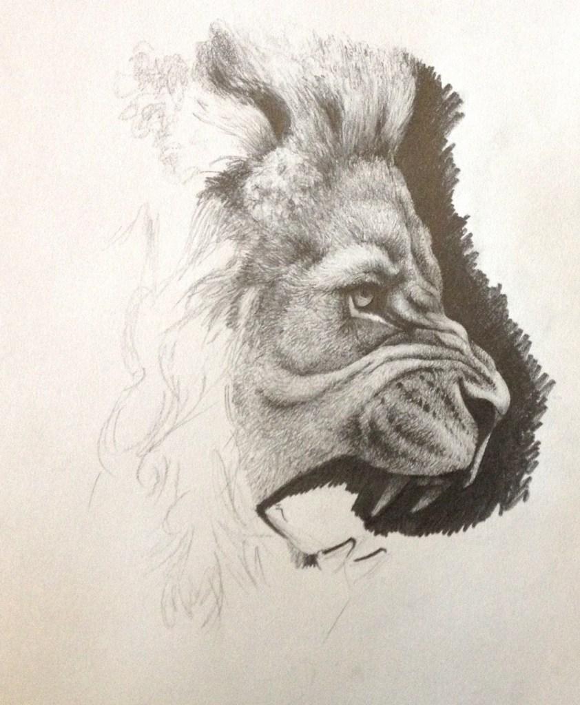 med school lion