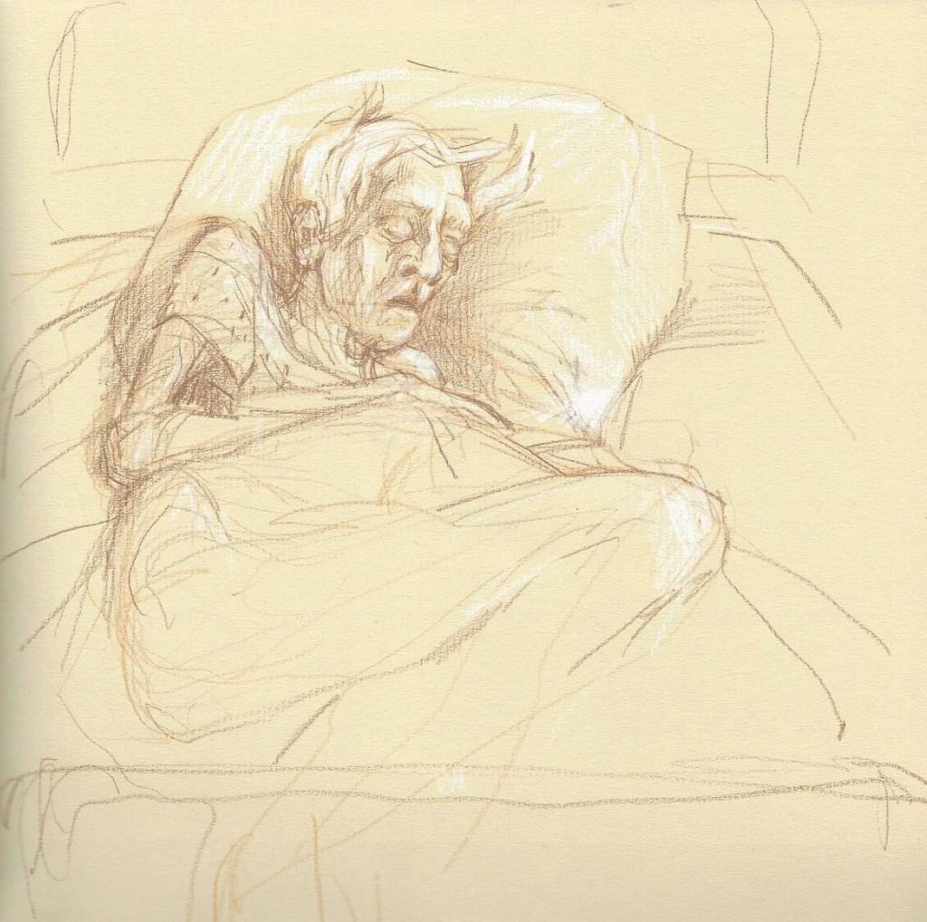 Parker Hospital sketches 1
