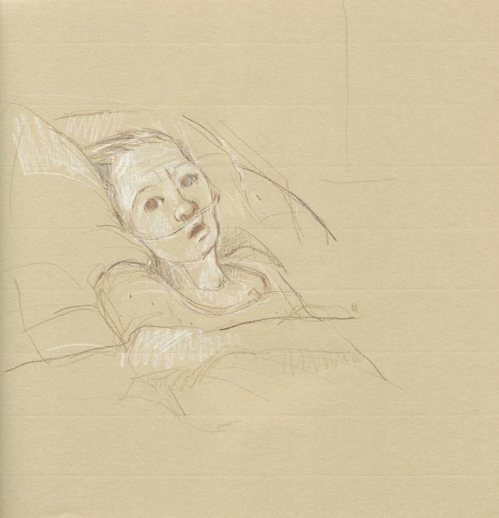 Parker Hospital Sketches 2