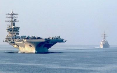 Amerykanie wycofują lotniskowiec, jednak zwiększanie możliwości obronnych CENCTOM-u nadal trwa
