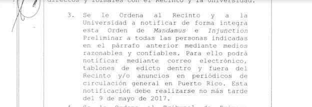 Presidenta interina de la UPR solicita que se abran los portones del recinto de Río Piedras
