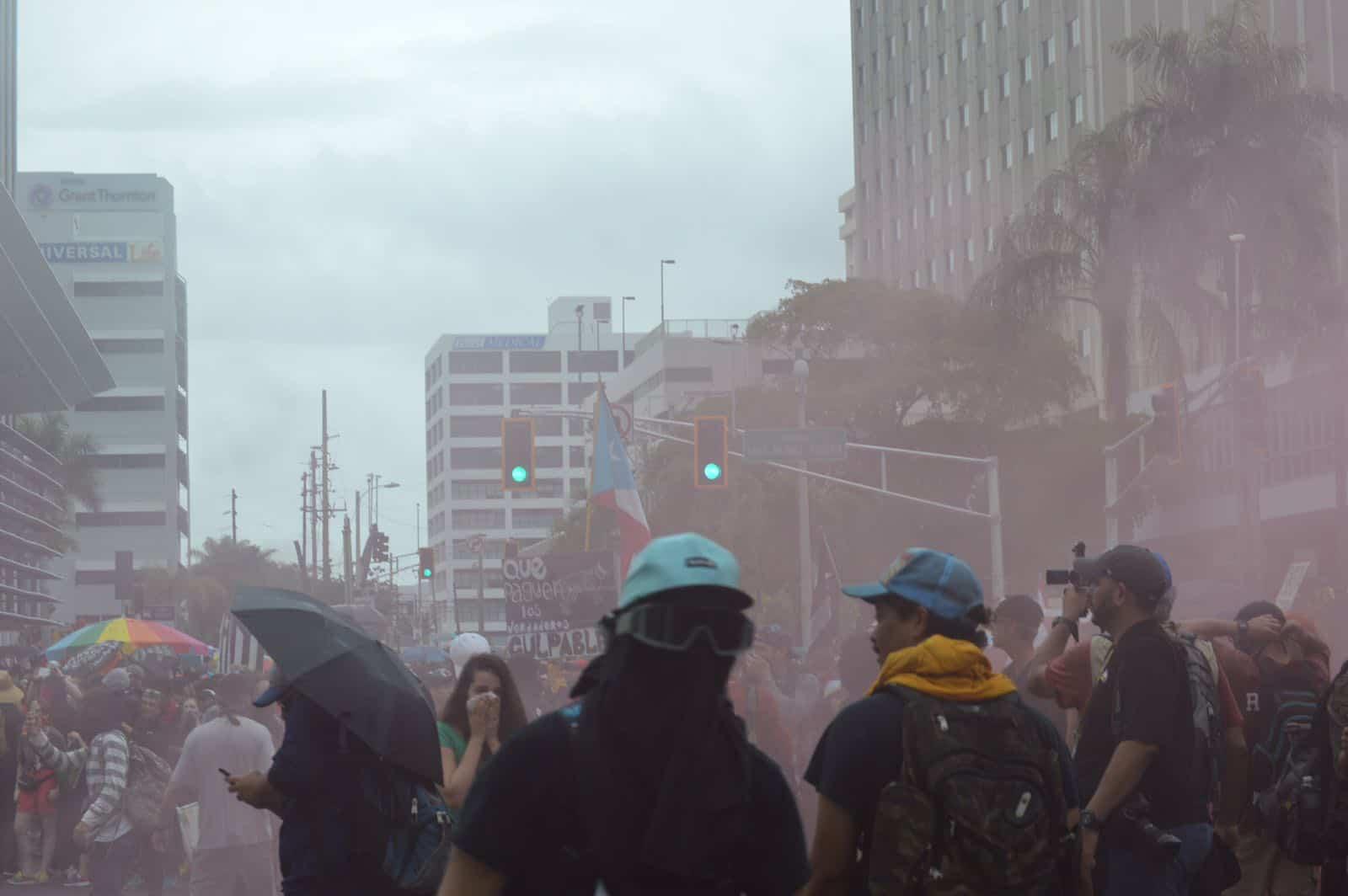 Banco Popular demanda a manifestantes