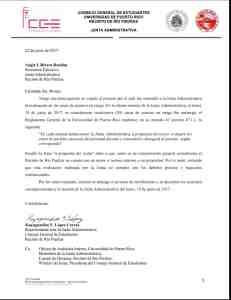 Denuncian ilegalidad tras ascenso de rango otorgado por Junta Administrativa UPR