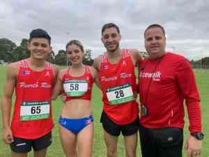 Estudiantes representan a la IUPI en campeonato australiano de Marcha