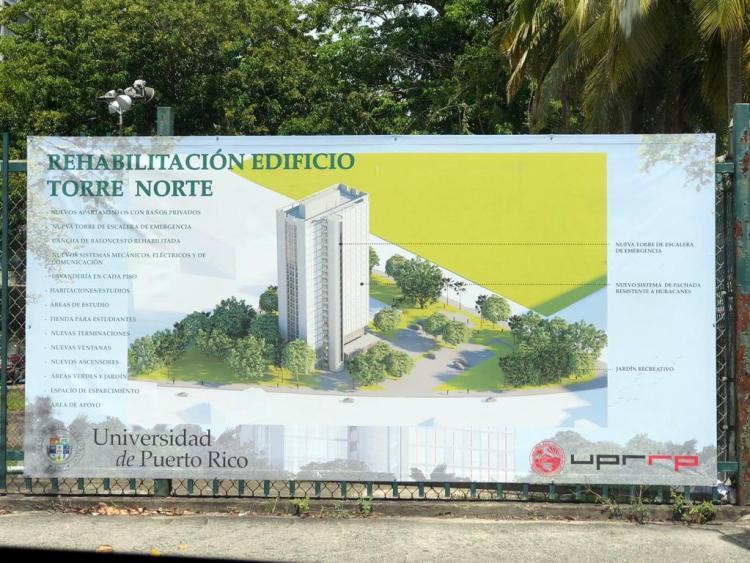 UPR en Río Piedras planifica la rehabilitación de Torre Norte