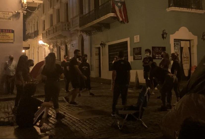 """Protestan """"con el cuerpo en la calle"""" por las que ya no están"""