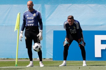 Russia Soccer WCup Argentina