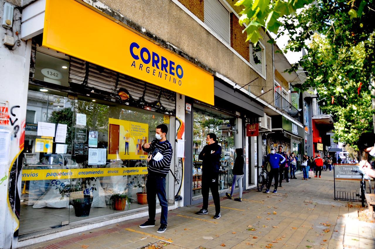 Comenzó el pago del IFE por Correo Argentino en La Plata - Pulso noticias