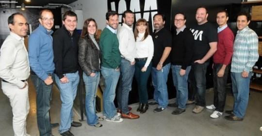 The Wayra team.