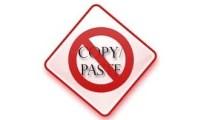 No-copy-paste