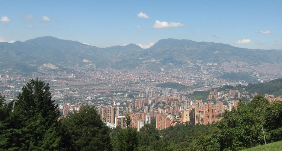 Medellín panoramica