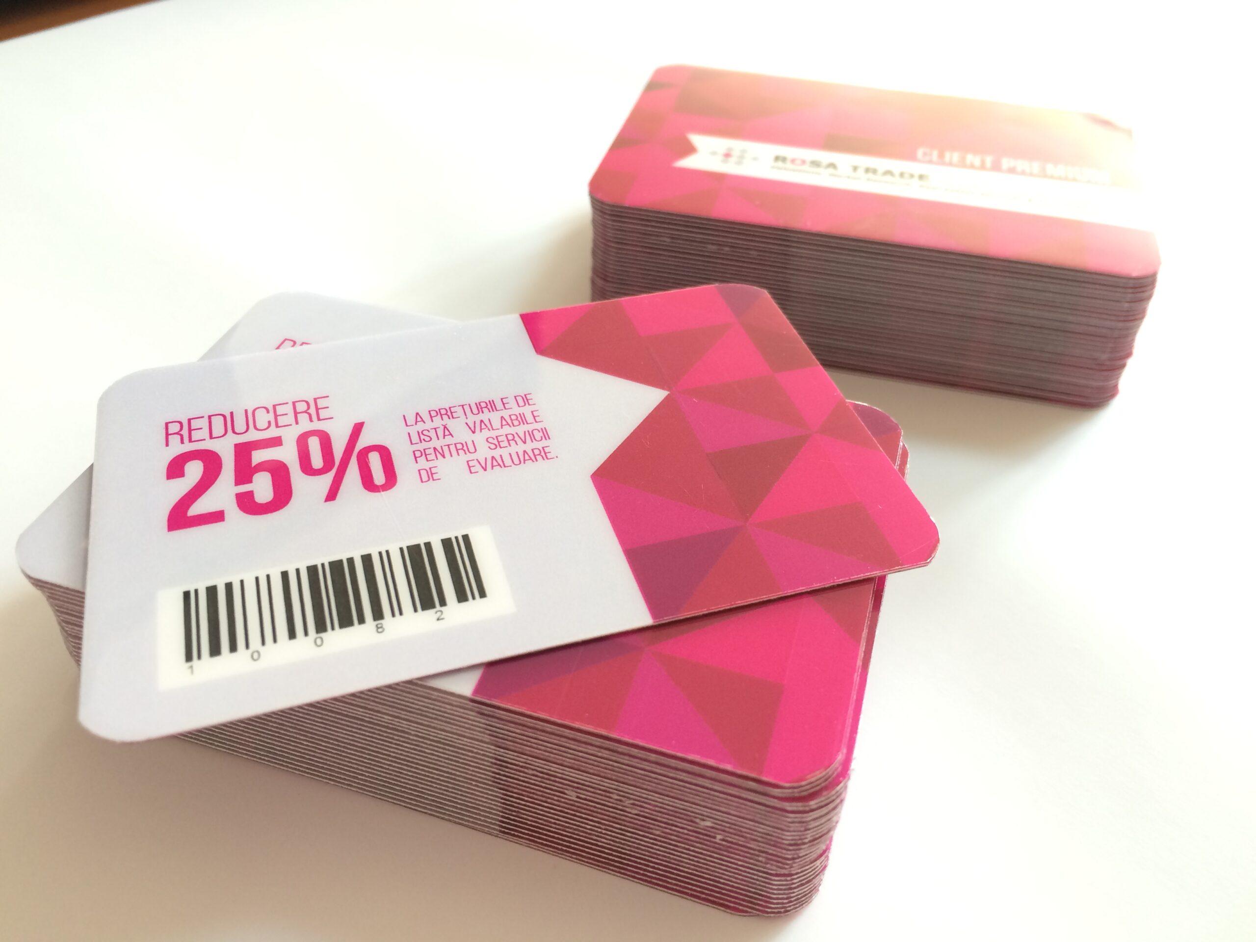 Carduri fidelitate Rosa Trade