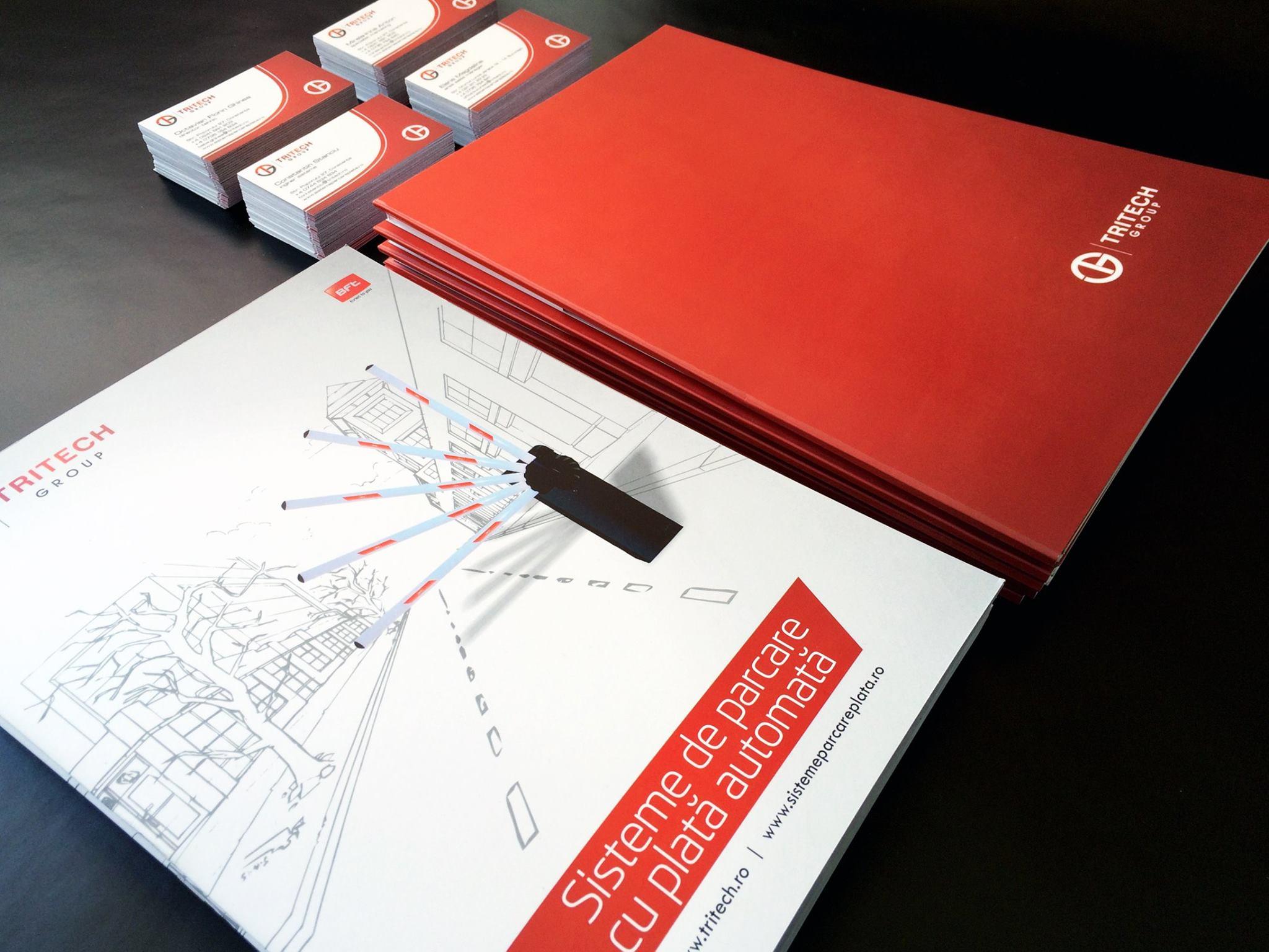 Print mape & carti de vizita Tritech Group