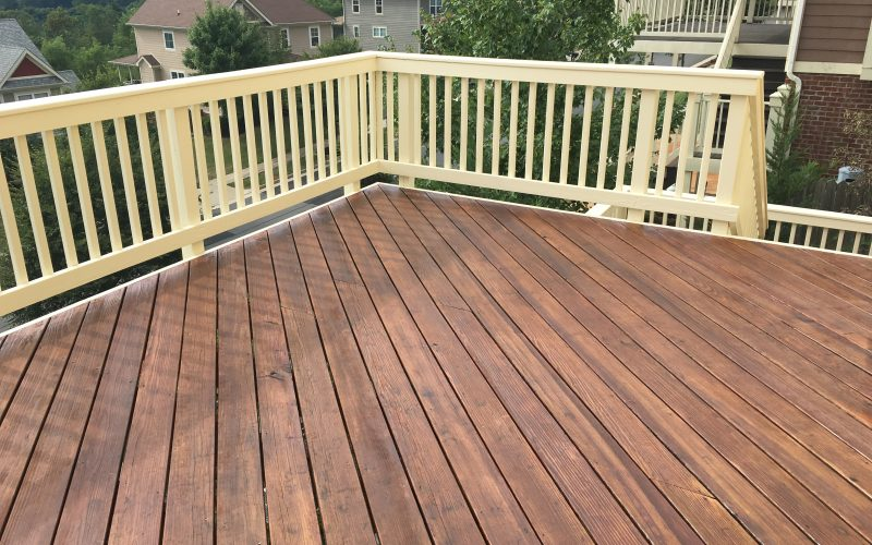Exterior Deck Staining Charlottesville