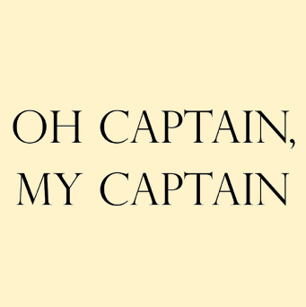 Captain, My Captain