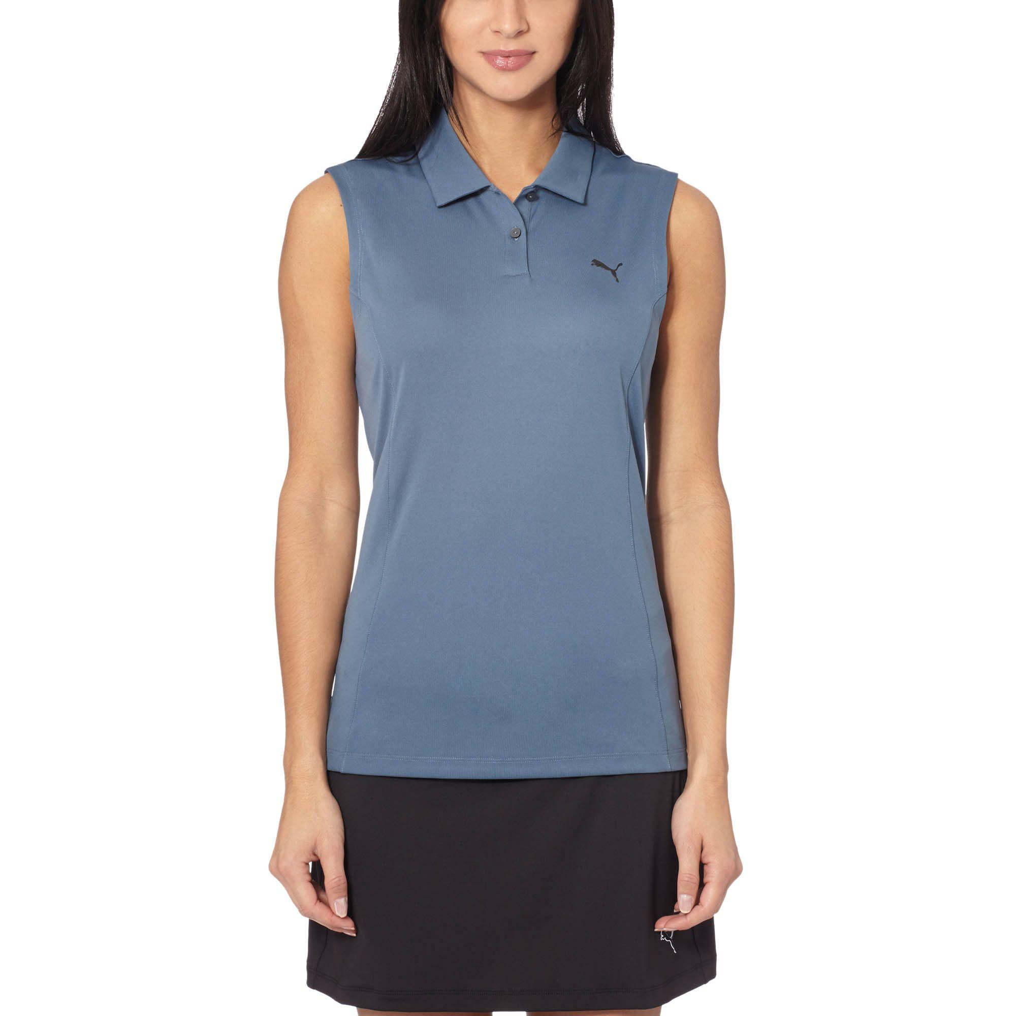 Puma Women's Sleeveless Golf Shirts