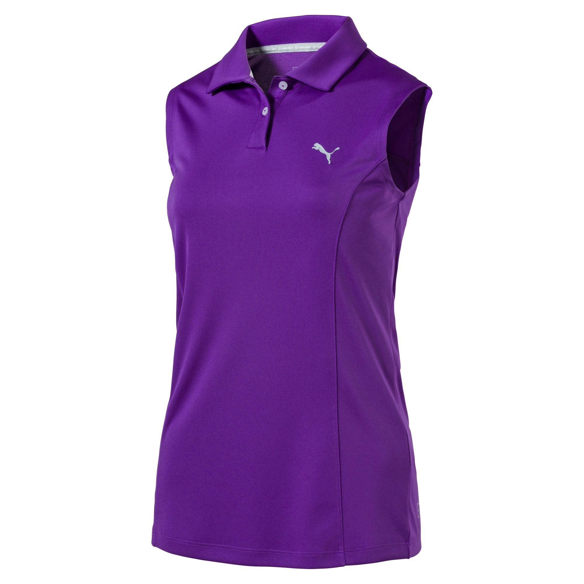 Women's Sleeveless Golf Polo Shirts