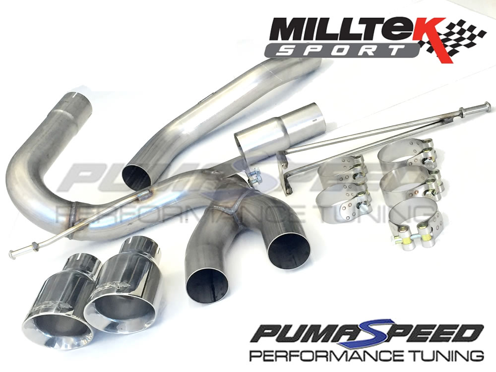 milltek sport focus st diesel cat back