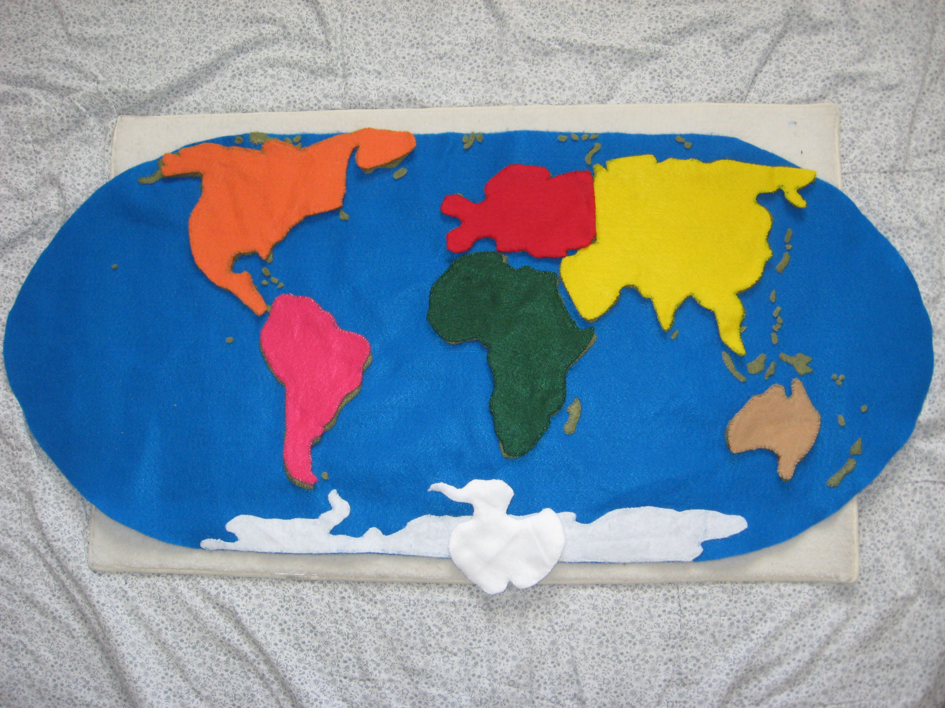 Continent Cut Outs