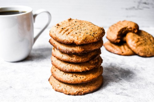 Gluten Free Dairy Free Almond Butter Chia Cookies