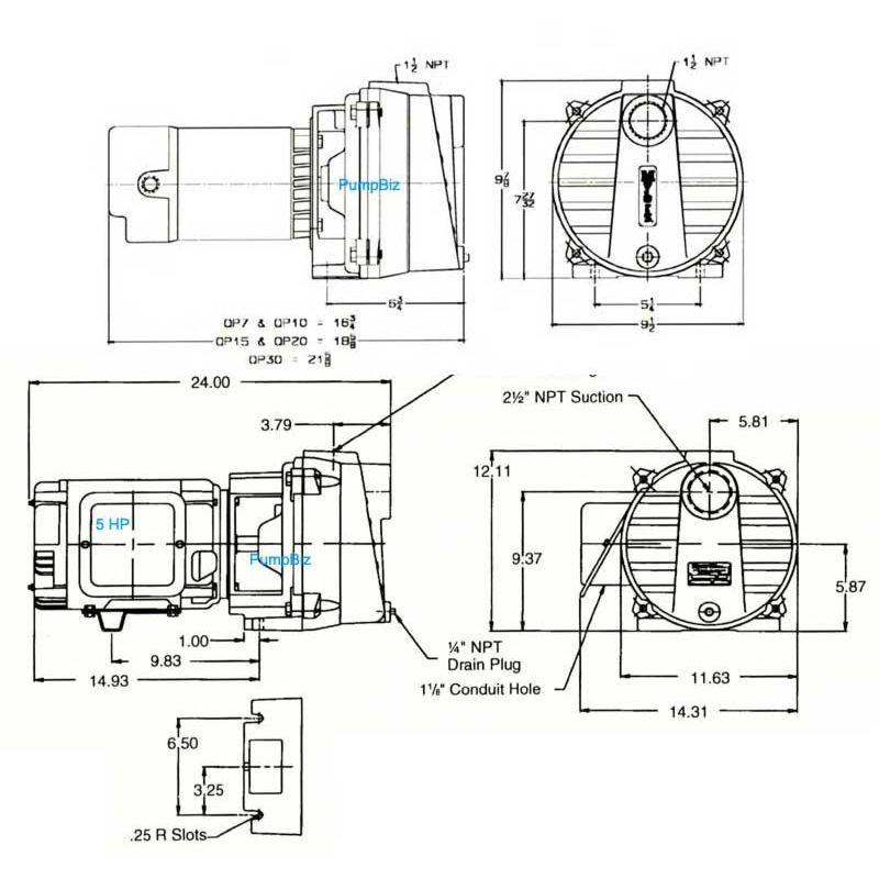 Diffuser QP15 QP20 Pump