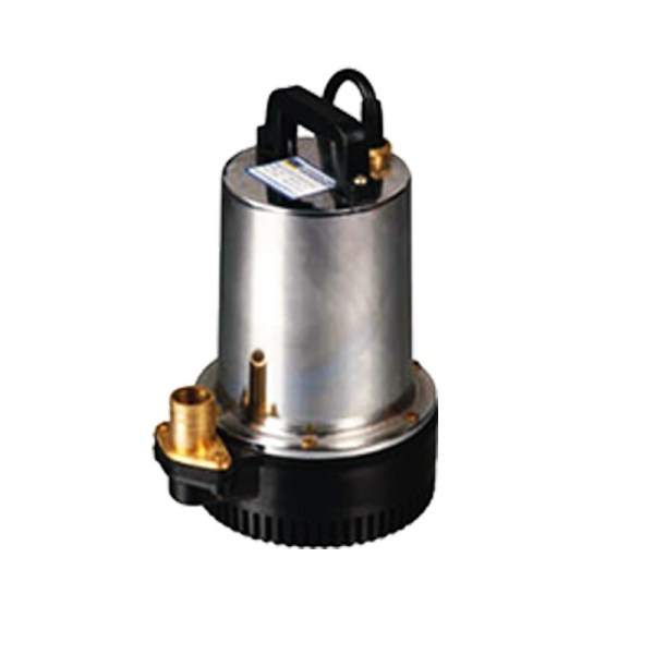 Submersible solar drainage pump
