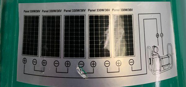Solar Pump GP 100 Panel scaled 1