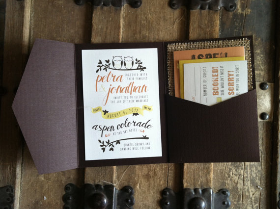 Wood Wedding Invitations 2016