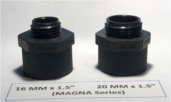 MAGNA CONNECTORS SIDE ANGLE