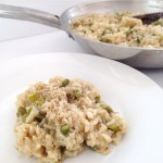 Asparagus and Lemon Brown Rice Risotto