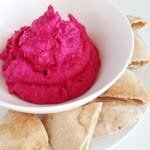 Roasted Beet White Bean Dip