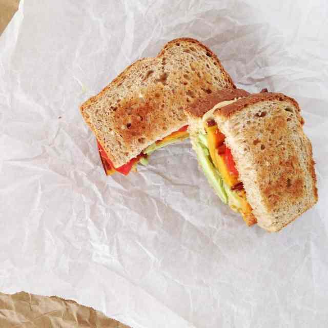 Sweet Potato & Avocado Sandwich