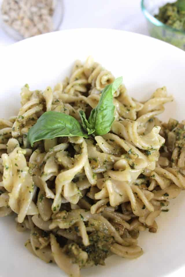 Sunflower Seed Basil Pesto