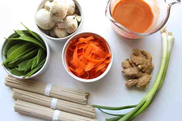 Vegetarian Thai Curry Noodles